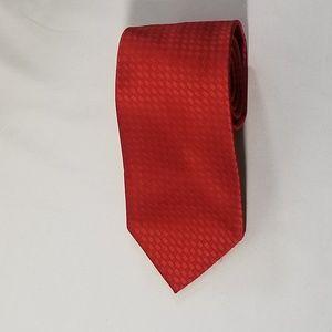 Pierre Cardin Red Tie Mens Necktie